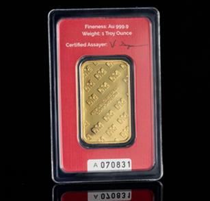 1-oz Gold Bar