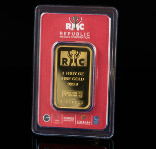 1-oz Gold Bar