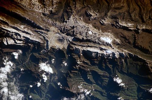 Irian Jaya Satellite photo