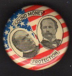 mckinley hobart sound money button