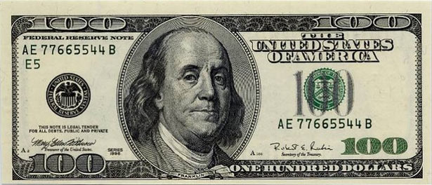 The modern banking cartel's standardized Federal Reserve Note.