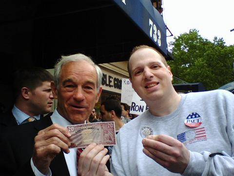 Ron Paul, Currency