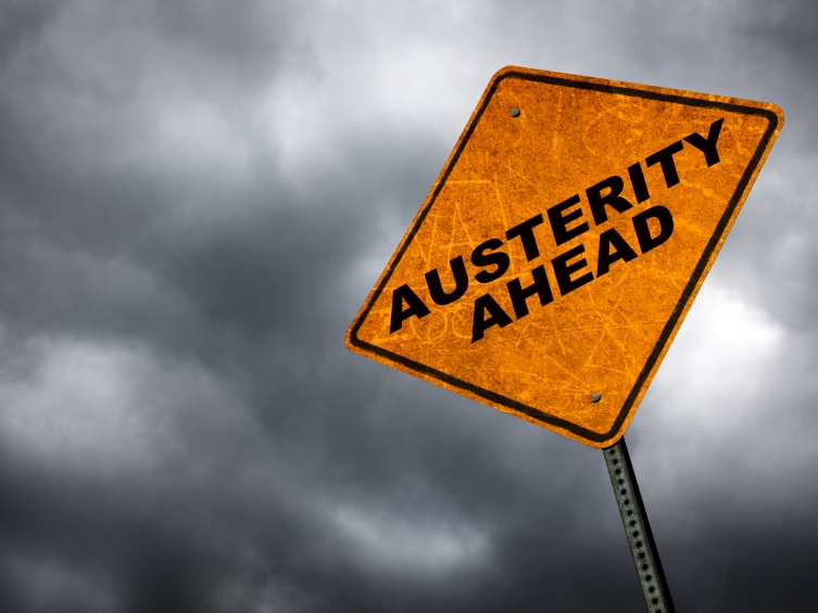 Austerity is coming. Excessive government spending guarantees it.