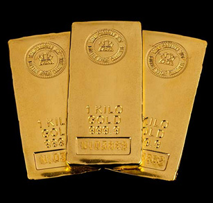 1 Kilo Gold Bar
