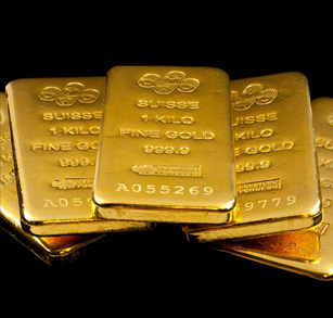 Small Metric Weight Gold Bars