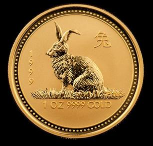 1999 Perth Mint Gold Rabbits