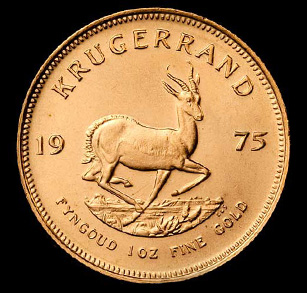 Krugerrands Are An Alloy Of 91 67 Gold And 8 33 Copper They Come In Four Sizes But The Fractional Ounce Which Were Introduced 1980