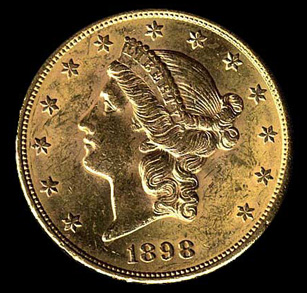 Twenty Dollar Gold Coin Liberty Twenty Dollar Gold Coin