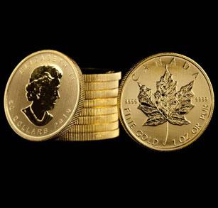 Canadian Gold Coins Canadian Maple Leaf Gold Bullion