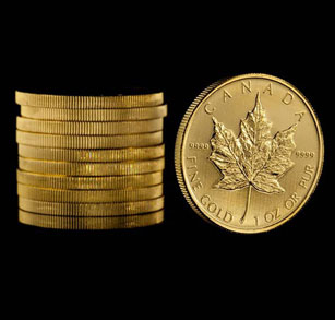 Canadian Gold Coins Canadian Maple Leaf Gold Bullion