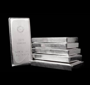 1 Pound Silver Bar December 2019