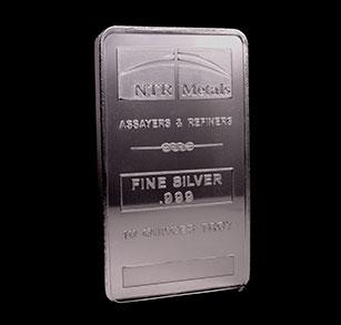 10-oz Silver Bar