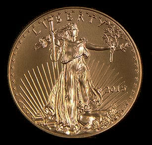All Four American Gold Eagle Sizes Carry The Same Design And Are Minted At Us Mint S West Point Facility